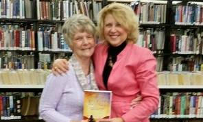 With my First Grade teacher, Bonnie Hines at Book Signing